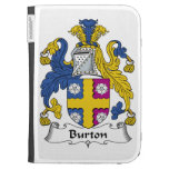 Burton Family Crest Kindle 3 Cover