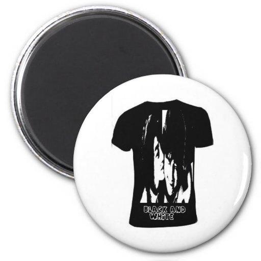 Burton-negro-equipo-cuello-llano-t-camisa Imán Redondo 5 Cm