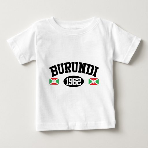 Burundi 1962 playera de bebé
