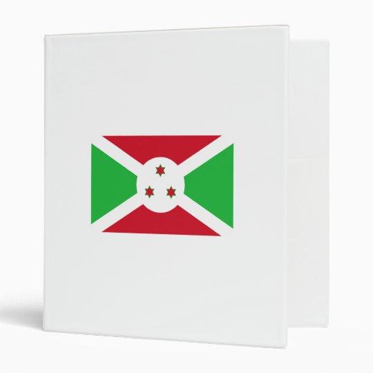 Burundi 3 Ring Binder
