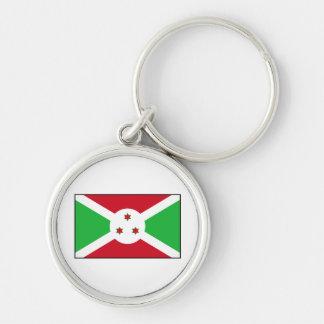 Burundi - bandera burundesa llavero personalizado