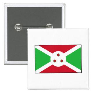 Burundi - bandera burundesa pin