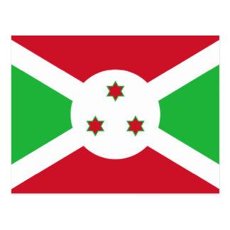 Burundi – Burundian Flag Postcard