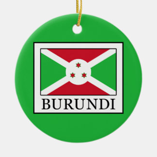 Burundi Ceramic Ornament