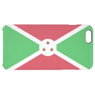 Burundi Clear iPhone Case