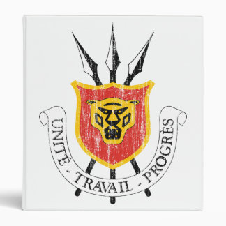 Burundi Coat Of Arms Binder