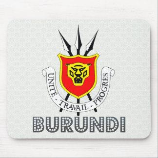 Burundi Coat of Arms Mousepads