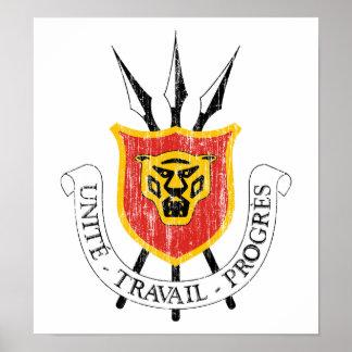 Burundi Coat Of Arms Posters