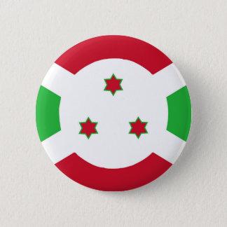 Burundi country flag symbol long pinback button