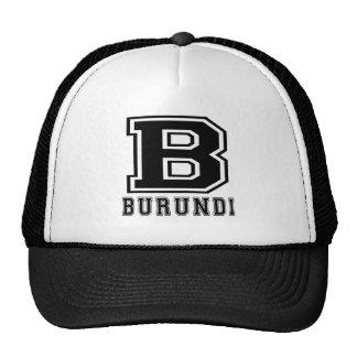 Burundi Designs Trucker Hats