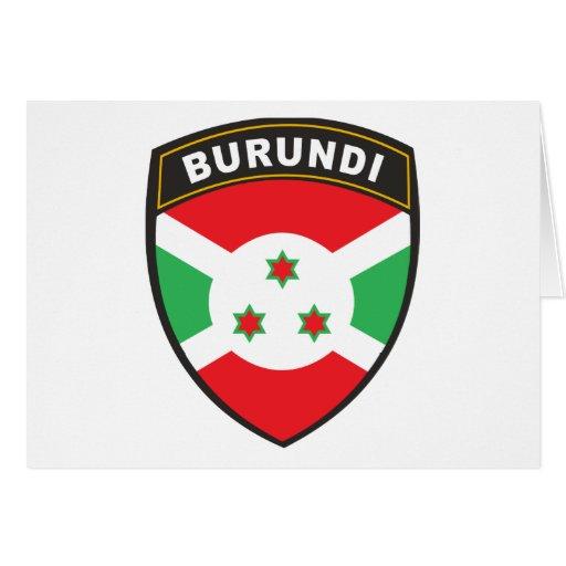Burundi Felicitación