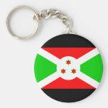 Burundi Flag Basic Round Button Keychain
