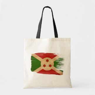 Burundi Flag Canvas Bags