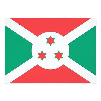 Burundi Flag Card