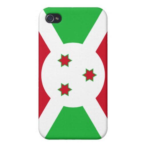 Burundi Flag Covers For iPhone 4