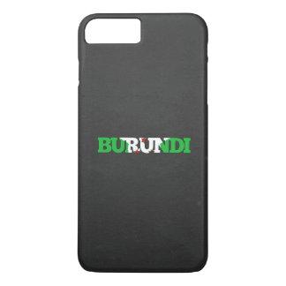 Burundi flag font iPhone 7 plus case
