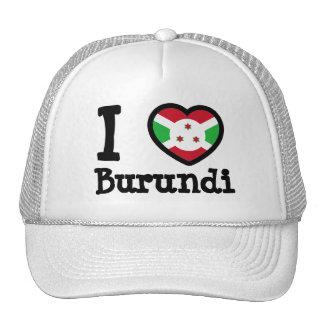 Burundi Flag Trucker Hats
