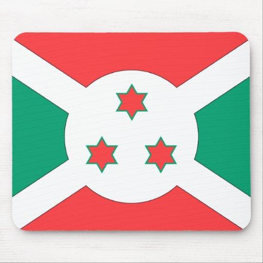 Burundi Flag Mouse Pads