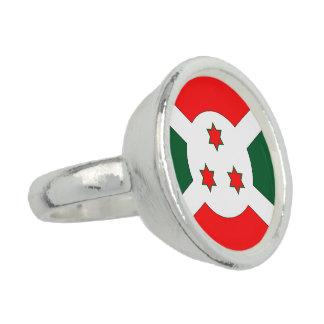 Burundi Flag Photo Ring