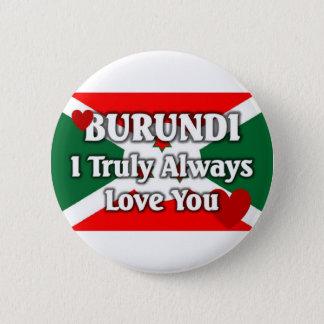 Burundi Flag Pinback Button