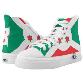Burundi Flag -.png High-Top Sneakers
