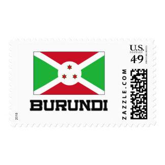 Burundi Flag Postage Stamp
