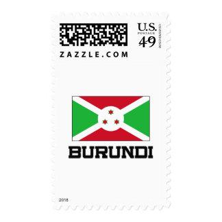 Burundi Flag Stamp