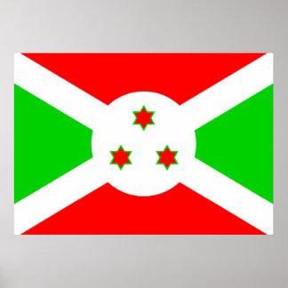 Burundi Flag Posters