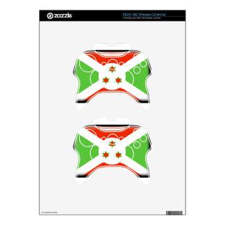 Burundi Flag Xbox 360 Controller Decal