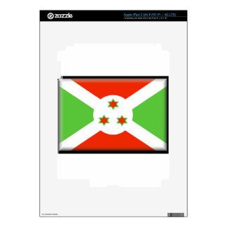 Burundi Flag Decal For iPad 3