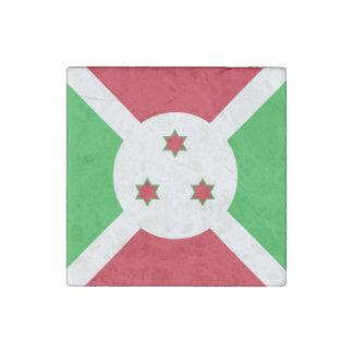 Burundi Flag Stone Magnet