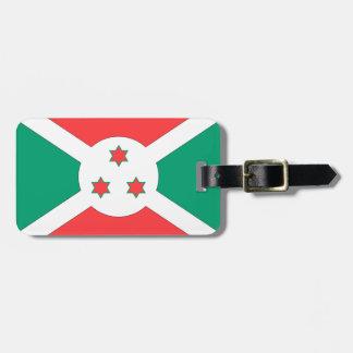 Burundi Flag Tag For Luggage
