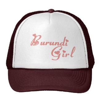 Burundi Gorras