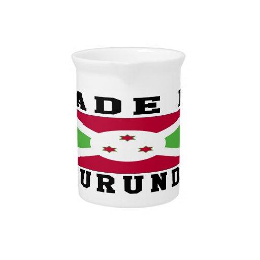 Burundi hizo en diseños jarra