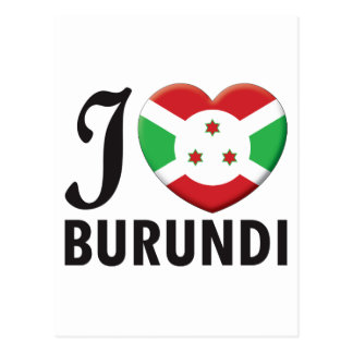 Burundi Love Post Card