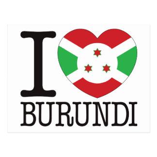 Burundi Love v2 Postcard