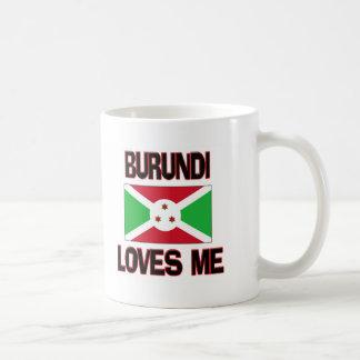 Burundi me ama tazas de café