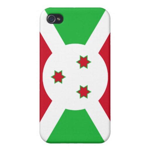 Burundi National Flag  iPhone 4/4S Covers
