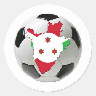 Burundi national team classic round sticker