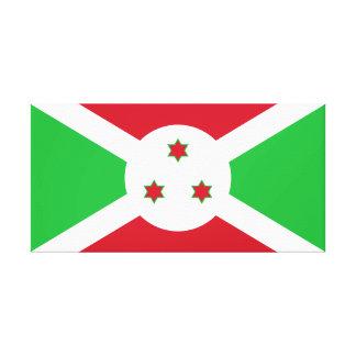 Burundi National World Flag Canvas Print