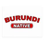 Burundi Native Postcards