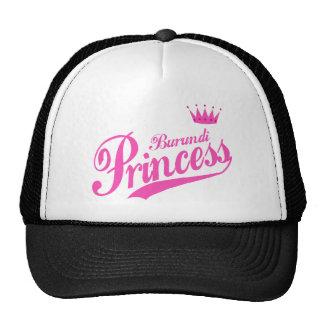 Burundi Princess Trucker Hats