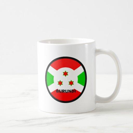 Burundi Roundel quality Flag Classic White Coffee Mug