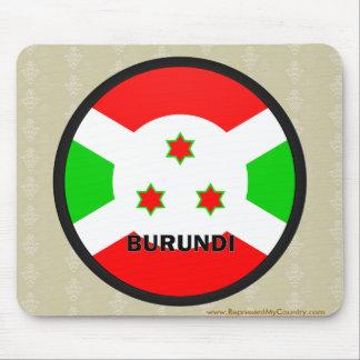 Burundi Roundel quality Flag Mousepad