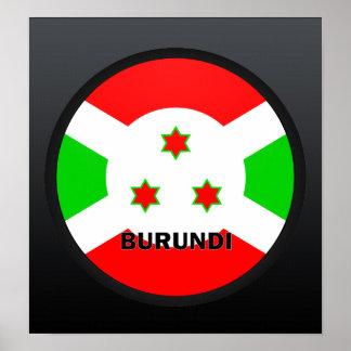 Burundi Roundel quality Flag Print