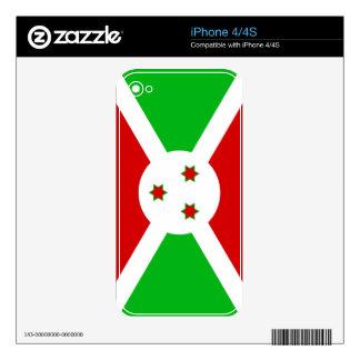 BURUNDI iPhone 4 SKINS