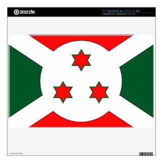 Burundi Skin For The MacBook Air