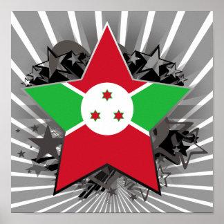 Burundi Star Print