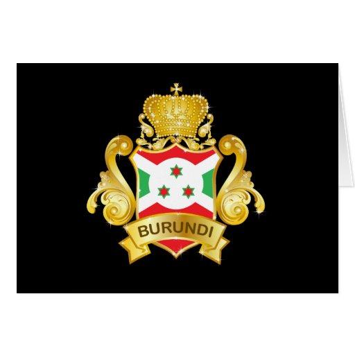 Burundi Tarjeta De Felicitación