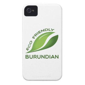 Burundian. amistoso de Eco Case-Mate iPhone 4 Protector